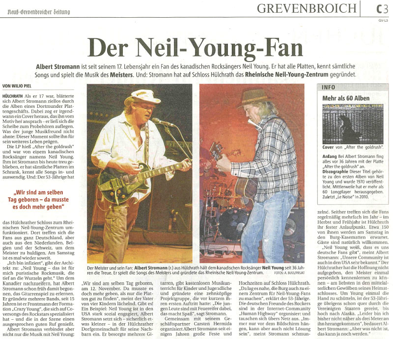 Rhineland Neil Young Center - Crazy Albert