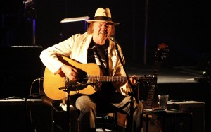 Neil Young at the Citi Wang Theatre in Boston