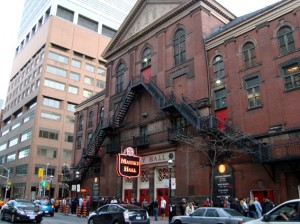 Massey Hall 2011
