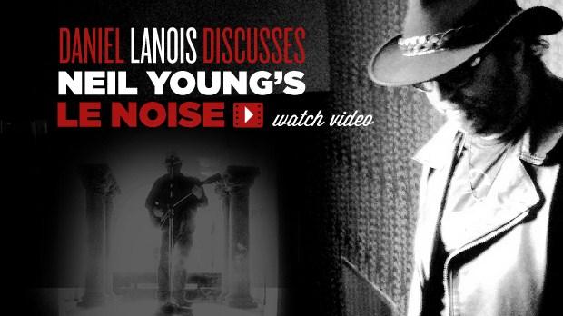 Daniel Lanois on Le Noise CBC