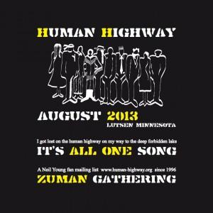 Human-Highway.org t-shirt 2013