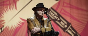 Neil Young speaks