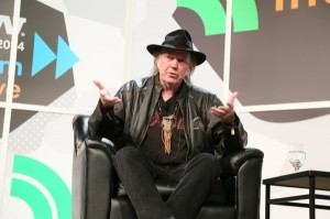 Neil Young at SXSW