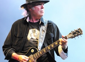Neil Young with CBC T-shirt