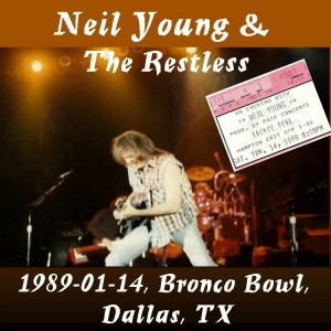 Neil in Dallas 1989