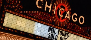 NeilYoung at Chicago Theater