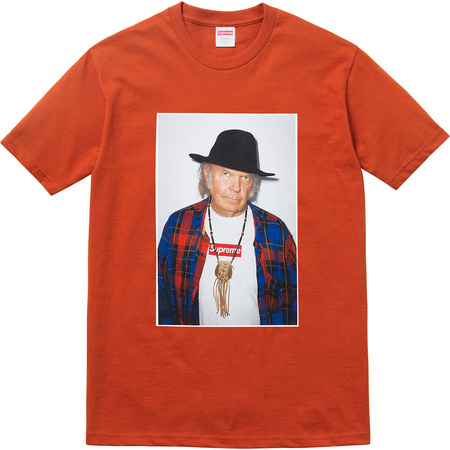 96add25959fa Neil Young Supreme T-Shirt all sold out on the same day they go on sale.