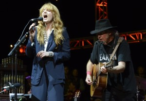 Flroence Welch & Neil at Grammys