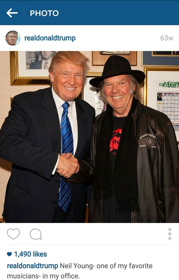 Neil and Donald Trump