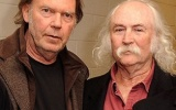 David Crosby is reaching out to Neil Young, via Twitter: 'He's pretty mad at me'