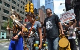 Apache activists open for Neil Young